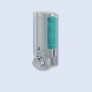 Dispensador Aviva I Plata Con Botellas Translucidas
